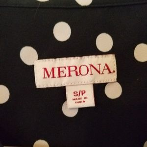 Merona Tops - Polka dot blouse